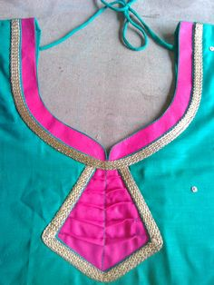 Chudidhar Designs, Churidhar Neck Designs, Neck Designs For Suits, Blouse Back Neck Designs, Neckline Designs, Sleeve Designs, Blouse Designs, Salwar Neck Patterns, Neck Patterns For Kurtis