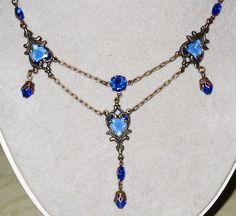 Titanic Jewelry Molly Brown's Blue Lifeboat by titanicjewelry, $60.00