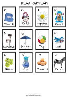 Eğitici Oyun Kartı (Flashcard)
