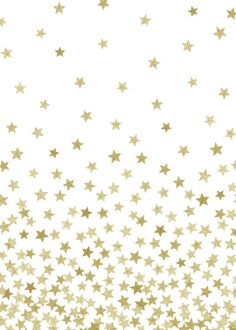 STARS GOLD Art Print