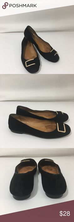 Coach flats suede 9 black Good condition has some wear on the suede but still nice. Coach Shoes Flats & Loafers