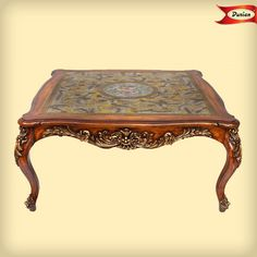 We give you the perfect royal touch on your coffee table. #Homedecor #DurianFurniture