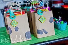 Favors at a Scooby Doo Party #scoobydoo #partyfavors