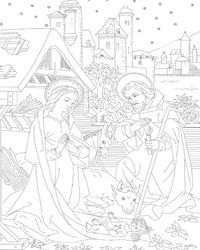 apostles 39 creed coloring pages one for each article of. Black Bedroom Furniture Sets. Home Design Ideas