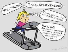 the dreadmill