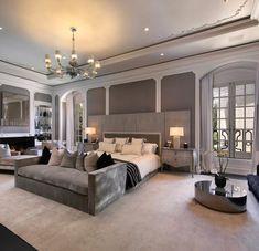 Modern Home Decor Bedroom Dream Rooms, Dream Bedroom, Home Decor Bedroom, Modern Bedroom, Bedroom Curtains, Bedroom Bed, Bedroom Ideas, Girls Bedroom, Bedroom Furniture