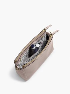 The Pearl - Leather Crossbody Bag & Clutch - Designed by Lo & Sons #loandsons