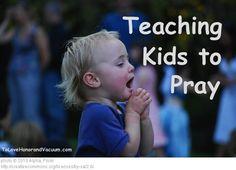 Teaching Kids to Pray: The Five Finger Method