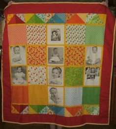 A memory quilt for my dad.who has Dementia. Dementia, Gifts For Family, Dads, Memories, Quilts, Blanket, Memoirs, Souvenirs, Quilt Sets