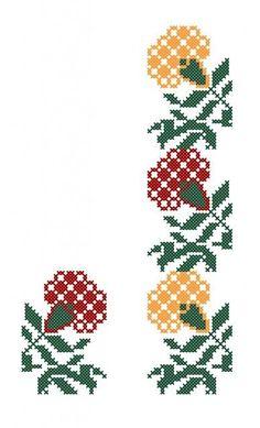 Cross Stitch Needles, Cross Stitch Rose, Cross Stitch Borders, Cross Stitch Flowers, Cross Stitch Designs, Cross Stitching, Cross Stitch Patterns, Home Embroidery Machine, Crewel Embroidery