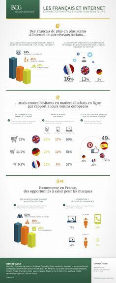 Les français et internet, connectés mais pas encore web-acheteurs