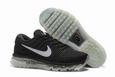 Hommes Nike Air Max 2017 Chaussures de running vert armée TU