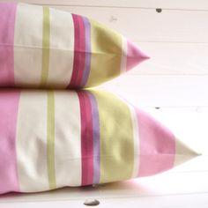 Cuscino decorativo a righe cuscino arredo cuscino di disirlab