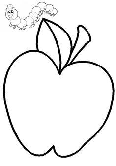 jablko s červíkom
