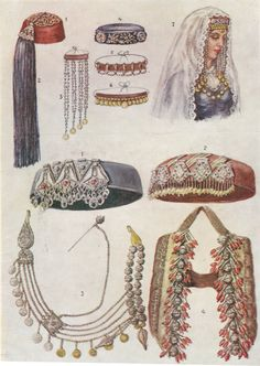 Armenian Headdresses. The more gold coins you have on your clothes the richer you are. They were usually used for currency and a personal bank for women.