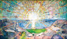 Edward Munch - The Sun - 1911