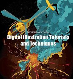 15 #Digital #Illustration Tutorials and Techniques