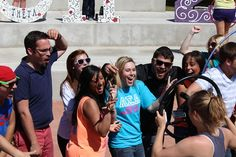 """NSU LipDub 2012 by Northeastern State University TV. Northeastern State University students, faculty, staff, clubs, organizations and supporters recently came together to perform a LipDub to the songs """"I Like It Like That"""" - By Hot Chelle Rae and """"Party Rock Anthem"""" by LMFAO."""