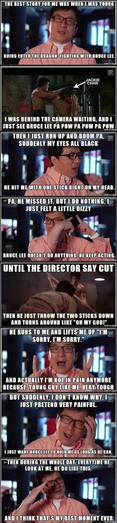 Jackie Chan ja Bruce Lee | Miesasia