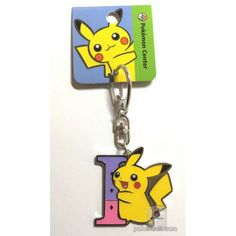 Pokemon Center 2017 Pikachu Keychain (Version I)