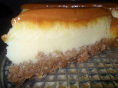 Mascarpones sajttorta karamellkrémmel…