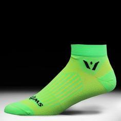 ASPIRE ONE Halo Green Compression Socks by Swiftwick