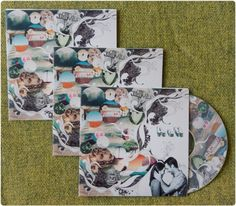 """Personalized mix CD's as wedding favors. Easy because everyone loves my """"Sexy Music by Mollie"""" original mix! <3"""