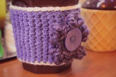 "Crochet Mug Uniform. ""Kubraczek"" na kubek."