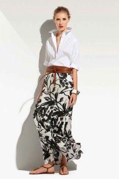Women's Luxury clothing - Cinzia Rocca 70s Fashion, Look Fashion, Fashion Outfits, Womens Fashion, Fashion Tips, Fashion Trends, Fashion Hair, Modest Fashion, Korean Fashion
