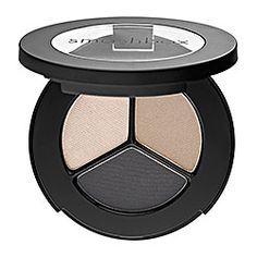 Smashbox Photo Op Eye Shadow Trio in Shutterspeed - Sand- bare nude/ Vapor- shimmery beige/ Thunder- shimmery smoky grey #sephora