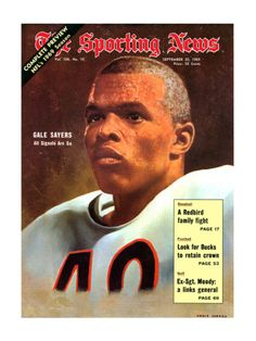 View and license Gale Sayers Nfl pictures & news photos from Getty Images. Best Football Players, Nfl Football, Gale Sayers, Nfl Hall Of Fame, Super Bowl Wins, Vintage Football, Knee Injury, Day Of My Life, Sports Photos
