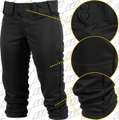 Worth FPEX ® Womens Plush Fastpitch Softball Pants