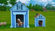 SEE THE VIDEO    FUNCTIONAL LARGE/SMALL BEDS AND HOUSE - CATS AND DOG   > CHARACTERISTICS:    - TS3 TO TS4  - Category: Animals  - For: ...