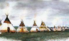 Encampment Mixed Media