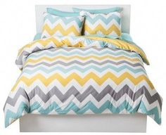 Room Essentials® Chevron Bettwäscheset Source by smbried Full Duvet Cover, Bed Duvet Covers, Duvet Cover Sets, Chevron Bedding, Chevron Duvet Covers, Textured Duvet Cover, Orange Duvet Covers, Toddler Girl Bedding Sets, Queen Room