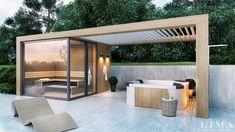 Pergola Ideas For Patio Hot Tub Pergola, Hot Tub Backyard, Backyard Hammock, Hot Tub Garden, Cedar Pergola, Pergola With Roof, Diy Pergola, Pergola Kits, Pergola Ideas