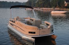 New 2012 Bentley Pontoon Boats 203 Cruise Pontoon Boat - Tan/Brown Color