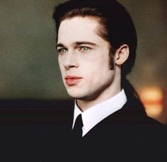 Brad Pitt in Interview with a Vampire....In this movie he's more beautiful than any woman I've ever seen.
