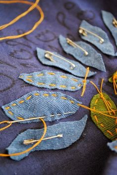 Sewing advice: Hand appliqué tips from Alabama Chanin blog