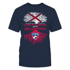 FC Dallas - Living Roots Alabama T-Shirt, TIP: If you buy 2 or more (hint: make a gift for someone or team up) you'll save quite a lot on shipping.  Click the GREEN BUTTON, select your size and style.  The FC Dallas Collection, OFFICIAL MERCHANDISE  Available Products:          Gildan Unisex T-Shirt - $24.95 Gildan Women's T-Shirt - $26.95 District Women's Premium T-Shirt - $29.95 District Men's Premium T-Shirt - $28.95 Next Level Women's Premium Racerback Tank - $29.95 Gildan Unisex…