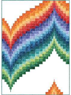 Pieced Bed Quilt Patterns - Page 2 Bed Quilt Patterns, Bargello Quilt Patterns, Bargello Quilts, Modern Quilt Patterns, Scrappy Quilts, Block Patterns, Modern Quilt Blocks, Panel Quilts, Quilt Kits