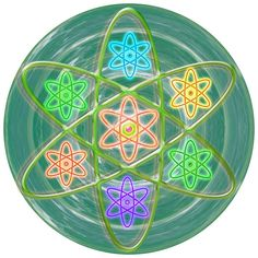 Green Revolution Chakra Mandala Art Yoga Meditation Tools Navinjoshi Rights Managed Images Graphic
