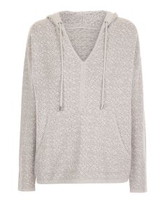 Hooded jumper TELEPHONE - Colour TIN GREY