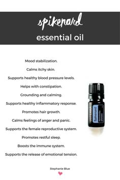 Uses and benefits of spikenard essential oil.  doTerra has it!