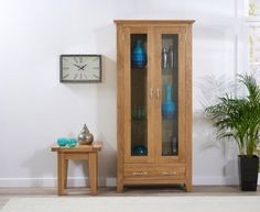 Cambridge 180 Oak Display Unit