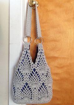 Ravelry: Pineapple Bag by Rose Hernandez