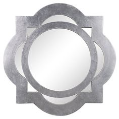 Tangier Wall Mirror, Silver | Brilliant Reflections | One Kings Lane