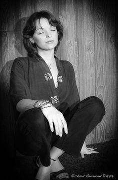 Renée Bordeleau, Chambly, Photo by Richard Guimond ©1977 19771019  Nikon F2a 105mm f2.5 2x Honeywell Strobonar 202, Tri-X D-76 105mm, Tri, Domestic Goddess, Nikon, Things To Think About, Photos, Pictures