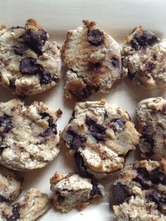 Vegan Paleo cookies- use cranberries instead of chocolate chips ! And throw some nuts in there if ya like