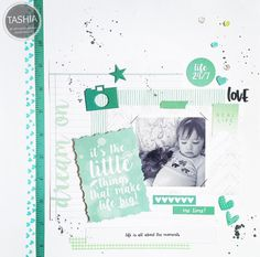 """Hi loves! This week's fun project I made was featuring primarily Kaisercraft's """"my year my story"""" collection! This is honestly one of my favorite collections, it is large and comes very color coordinated and that makes it waaaay fun. You..."""